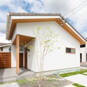 建売住宅ーひなた美坂ー誕生のお知らせ!全館空調システムで快適な空間とコの字型の中庭がある平屋の家に是非お越し下さいませ!