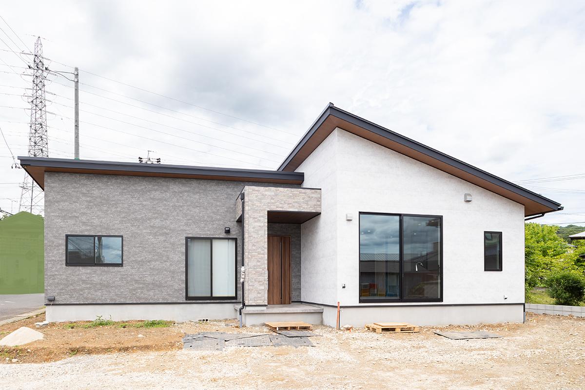 土岐市|I様邸|新築・注文住宅|豪華!LクラスキッチンとLクラスバスルームを採用した平屋の家