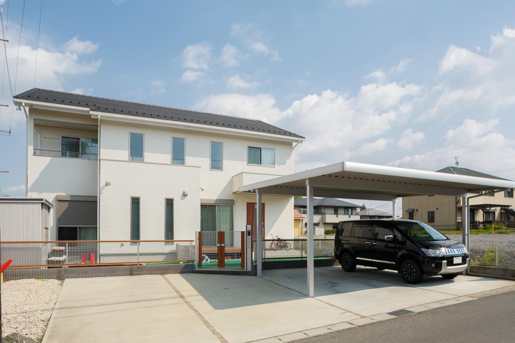 土岐市肥田町 S様邸 新築・注文住宅 白を基調とした家