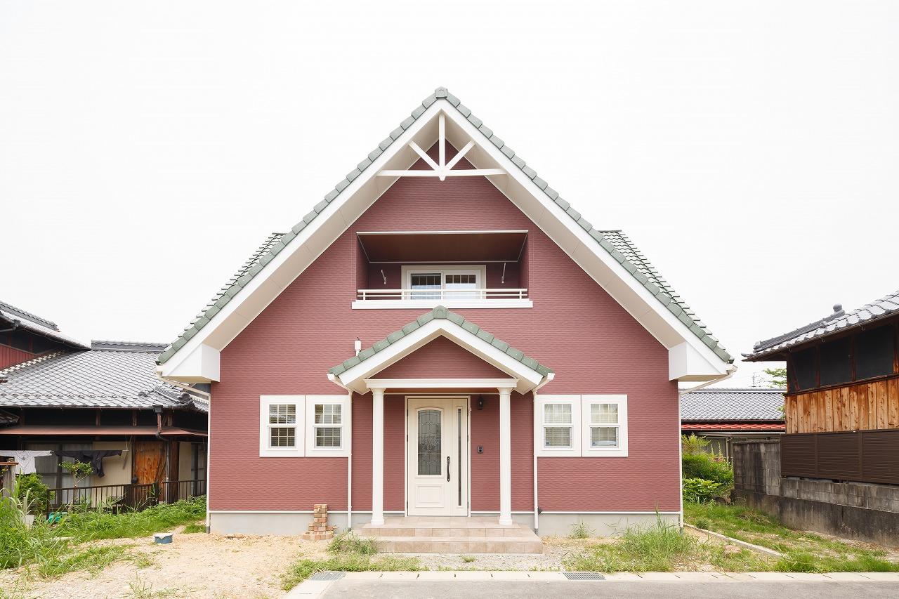 土岐市|M様邸|新築・注文住宅|ログハウス風~内観パイン材で仕上げたこだわりの邸宅