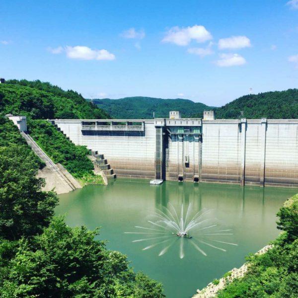 陶町水上|高さ114.0メートル。内部の見学できる日本でも珍しいダム|小里川ダム