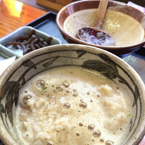 鶴里町|天然モノの自然薯(じねんじょ)が最高に旨い|みくに茶屋 様