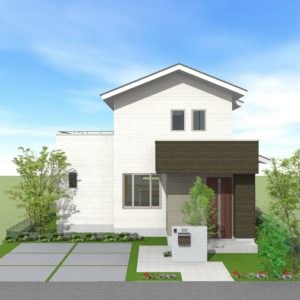 滝呂建売住宅 PLELIAープレリアー 上棟日、販売価格決定致しました