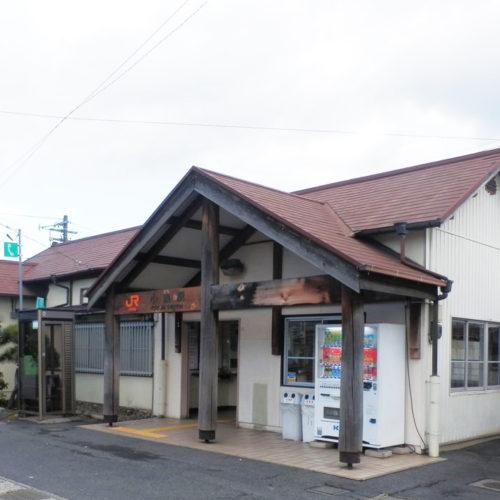JR太多線「小泉」駅