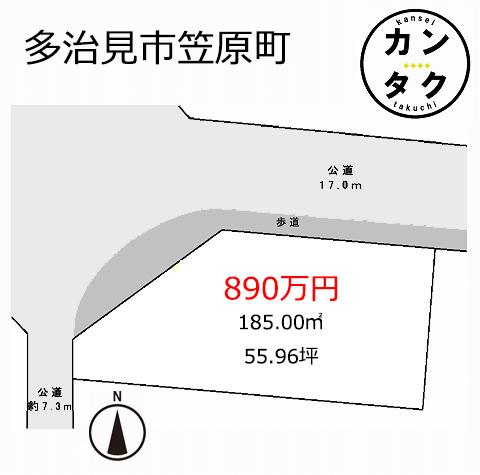 笠原でも人気の区画整理地内の物件 メイン通り沿いの角地で徒歩圏内にスーパーもあり便利な立地です 造成工事や上下水道工事も行います