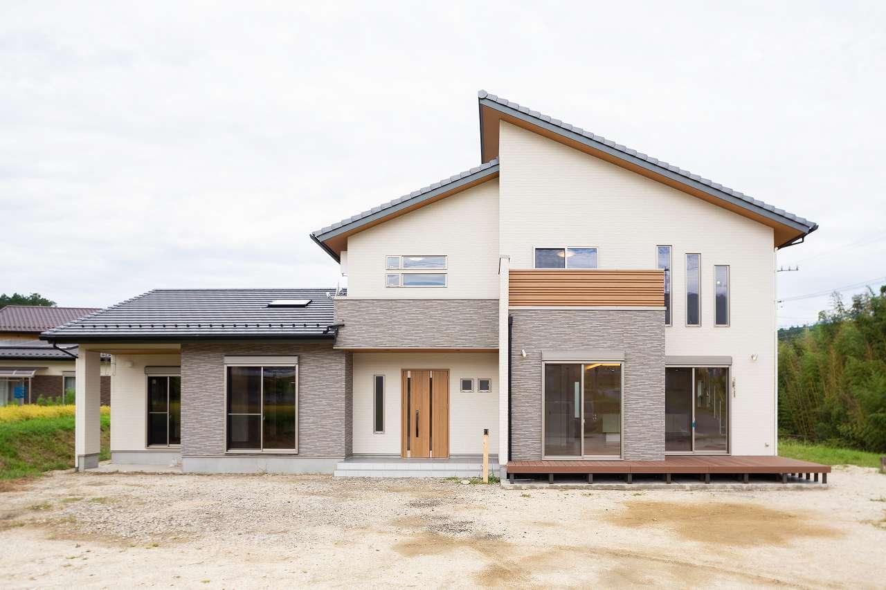中津川市手賀野|I様邸|新築・注文住宅|開放感抜群なナチュラル二世帯住宅