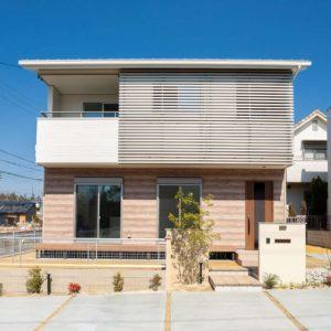 土岐市下石陶史台 メーカー外壁デザイン賞を受賞した家 施工実例を追加致しました