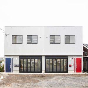 可児市中恵土|新築事務所・社屋|開放的なショールームのある新社屋