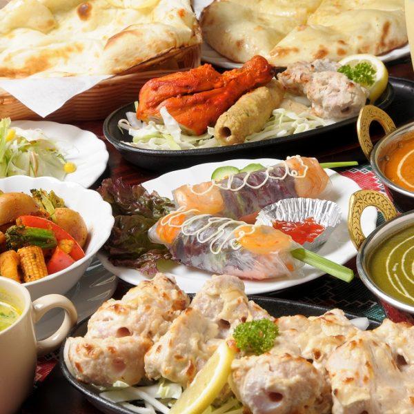 肥田浅野朝日町|焼き立ての大っきなナンで大人気|インド料理 ウパハル様