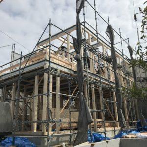 多治見市滝呂町にて新築・建売住宅上棟しました!