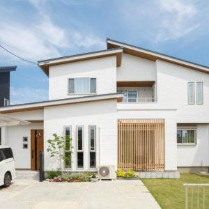 多治見市喜多町|K様邸|新築・注文住宅|収納力と凹凸の家