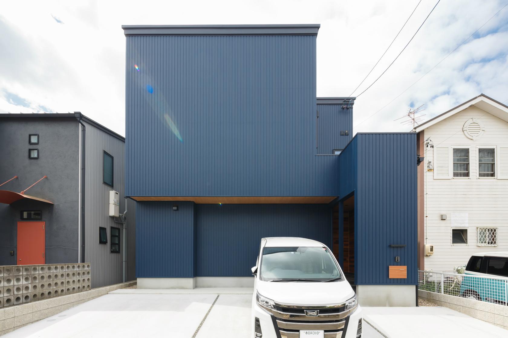 春日井市|Y様邸|新築・注文住宅|オリジナルで作るオーダーメイドキッチンのある家