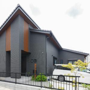 土岐市泉町久尻|N様邸|新築・注文住宅|勾配天井とロフトのある平屋の家