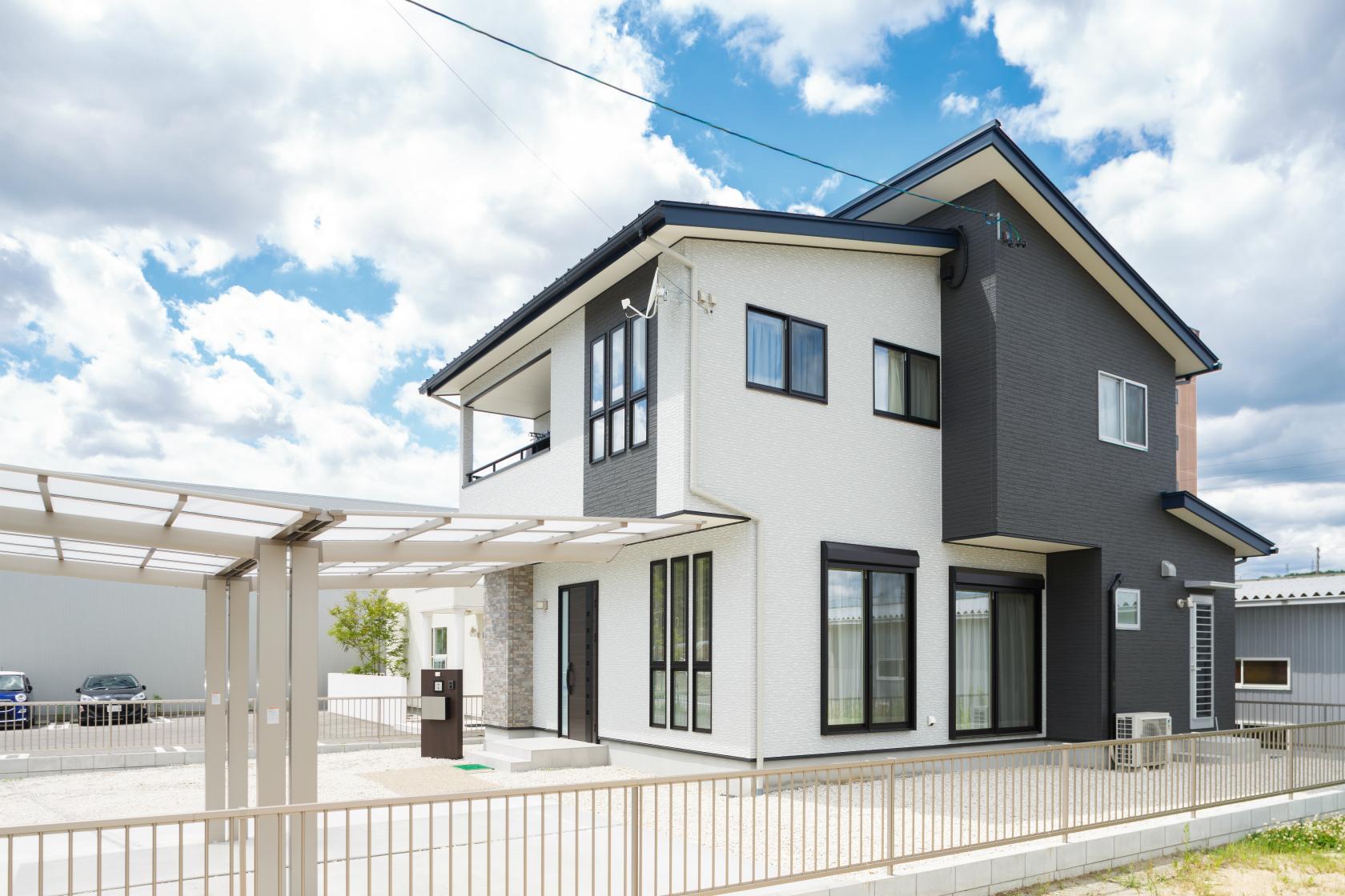 瑞浪市和合町|K様邸|新築・注文住宅|つながり和室とスリット階段のある家