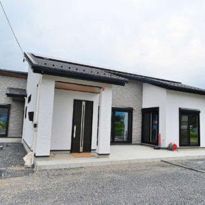 土岐市泉町河合|A様邸|新築・注文住宅|コの字型の和モダン平屋建て住宅