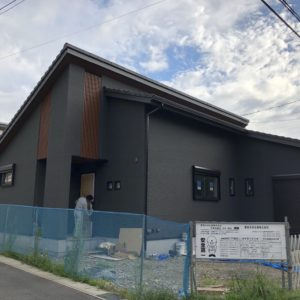 土岐市平屋モデル完成目前情報!