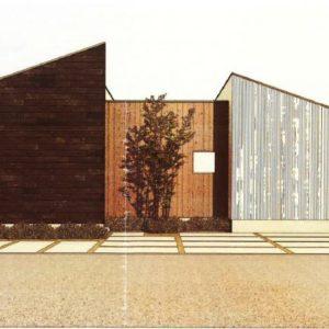 建築家と創る「平屋モデルハウス」上棟しました。