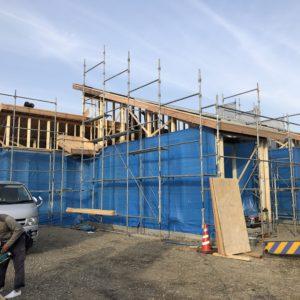 おめでとうございます!土岐市泉地区に人気の平屋住宅上棟しました!